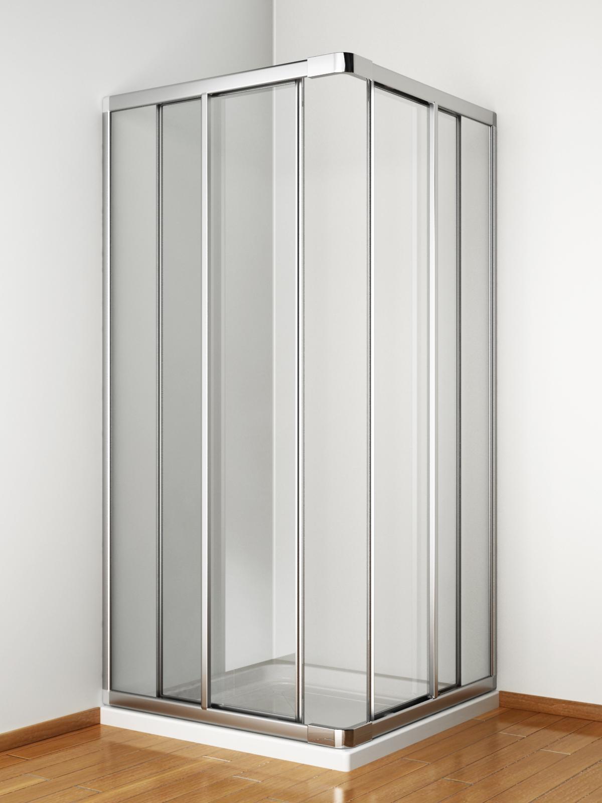 Box doccia angolo 2 porte scorrevoli - Porte scorrevoli ad angolo ...