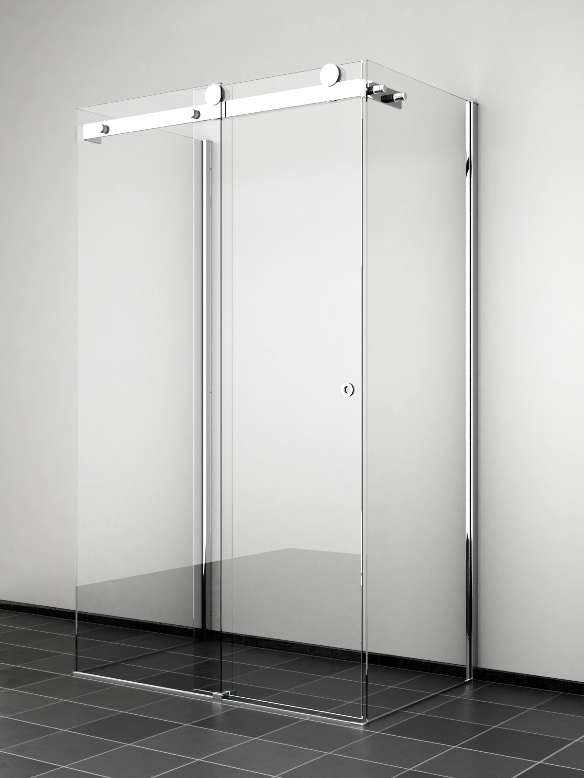Box doccia 3 lati - Doccia senza piatto doccia ...